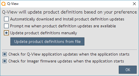 Update product definitions from file