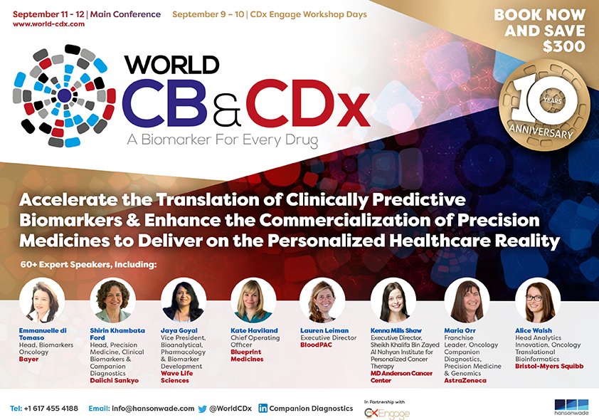 Clinical Biomarkers & World CDx Boston 2019